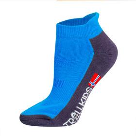 TROLLKIDS Hiking II Low Cut Sokken Kinderen, blauw/grijs